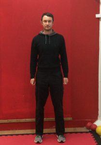 Aaron Standing Front Posture