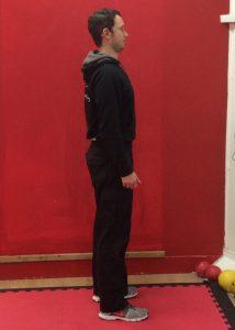 Aaron Side Standing Posture