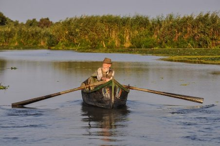 elderly rower